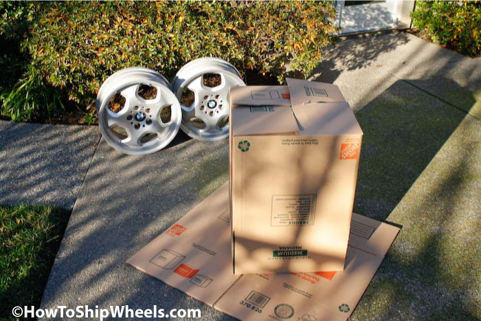 how to package wheels