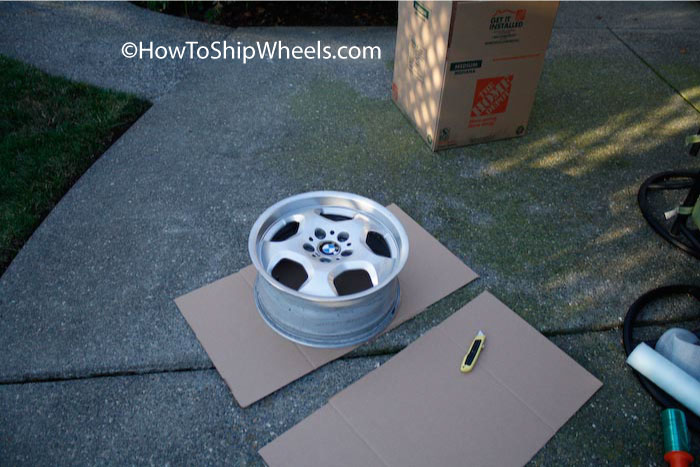 how to ship wheels without tires
