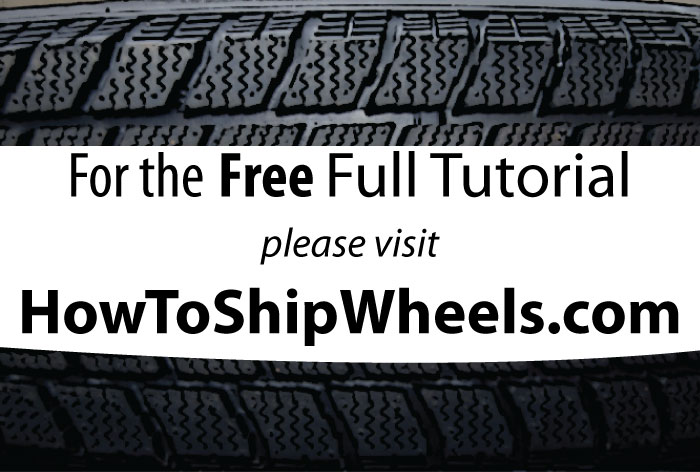 Supplies for Shipping Wheels with Tires